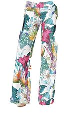 Trina Turk Ipanema Roll Top Swim Cover Up Pants Floral MSRP $138 NEW