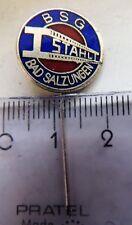 BSG Stahl Bad Salzungen football DDR vintage crest badge pin anstecknadel