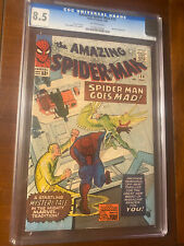 AMAZING SPIDER-MAN #24 5/65 CGC 8.5  OW NICE HIGH GRADE EARLY SPIDEY BOOK!!