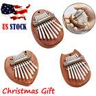 8 Keys Thumb Piano Mini Kalimba Great Sound Fingers Keyboard Musical Instrument*