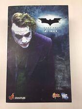 Hot Toys MMS 68 Batman Dark Knight TDK Joker Heath Ledger 12 inch Figure NEW