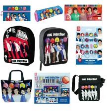 One Direction Back To School Sets - Stationery Set, Backpack, Bag, Notebook, Pen