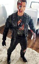 "NECA Terminator 2 Judgement Day T-800 Final Battle 12 Inch Action Figure 12"""