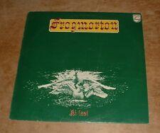 FROGMORTON at last 1976 UK PHILIPS STEREO FOLK ROCK VINYL LP