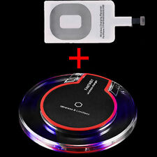 Qi Wireless Fast Charger Charging Pad F Samsung Galaxy S8 Note 8 iPhone 7 8 Plus