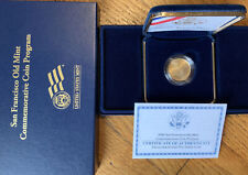 2006 SAN FRANCISCO OLD MINT $5 GOLD COMMEMORATIVE COIN PROOF US MINT W/ COA& BOX