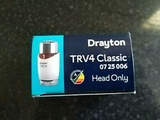 Drayton TRV4 Classic Thermostatic Valve - Head Only (0725006)