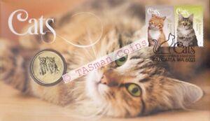 PNC Australia 2015 Cats The Perth Mint Tuvalu $1 Coin