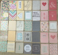 """Project Life Cards Becky Higgins 5th & Frolic  Edition 50 Karten 3x4"""""""