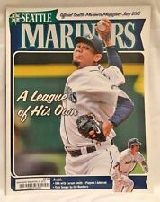 OFFICILA SEATTLE MARINERS MAGAZINE - JULY 2015 FELIZ HERNANDEZ
