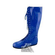 Jesse Ventura Autographed Wrestling Boot - Leaf Coa (Left Boot)