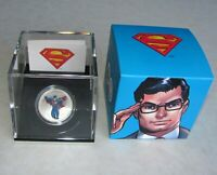 Canadian Mint 75th Anni 1/2 oz $15 Fine Silver Coin Modern Day Superman 2013