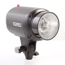 Godox E250 250W Photography Photo Studio Strobe Flash Light Lamp lighting Head