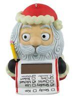 Hallmark 2016 Santa Checking It Twice Solar Motion Keepsake Moving Eyes List NIB