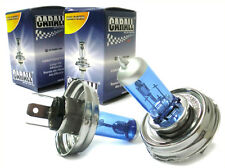 COPPIA Lampada LAMPADINA H5 H4 P45t 12V 60/55W Con Effetto Gas XENON Bianco