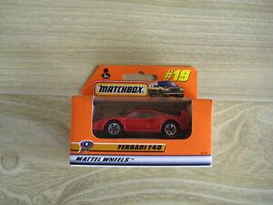 MATCHBOX SUPERFAST   MB19 FERRARI F40    ABSOLUTELY MINT