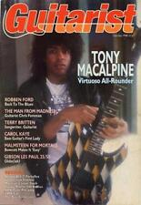 Tony Macalpine UK 'Guitarist' Interview Clipping