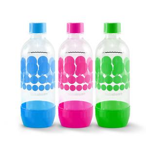 SodaStream Reusable Carbonating 3bottles.Sparkling water makers pack of 3bottles