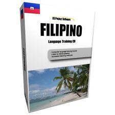 PR imparare a parlare FILIPPINO tagalog Lingua Corso PC CD NUOVO