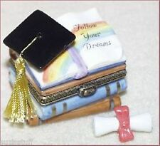 Graduation Cap & Books-Midwest Phb-with Trinket Enclosed is a Diploma
