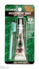 Clubman Pinuad Moustache Wax w/applicator comb 1- 0.5 oz.( CHESTNUT BROWN )