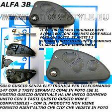 COVER GUSCIO 3 TASTI PER CHIAVE TELECOMANDO ALFA 147 COME DA FOTO- LEGGERE BENE