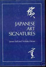 Japanese Art Signatures-Kaisho-Nengo & Cycle Systems-Self-Nobuko Hirose-1st Ed