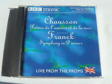 CHAUSSON POEME DE LAMOUR FRANCK SYMPHONY IN D MINOR BBC OUT OF PRINT FREEPOST CD