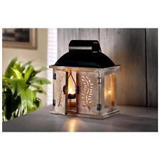 "Deko Laterne ""Montafon"" inkl. Teelichtanhänger 28 cm hoch Kerzenhalter"