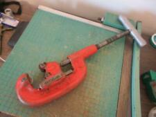 "Ridgid No. 2A Heavy Duty Pipe Cutter 1/8"" to 2"""