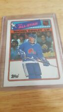 1984 Topps STICKERS NHL ALL-STAR Michel Goulet Quebec Nordiques Card #7