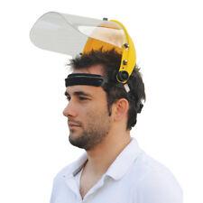 Light Weight Face Shield & Visor Protector Impact Head Strimmer Shredders