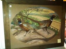 Herman Grieb pheasant duck fish squirrel bird diorama mount taxidermy appraisal
