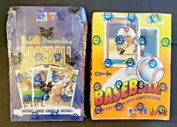 1992 O-Pee-Chee Baseball Factory Sealed Box Lot of 2! - Chipper & Griffey Jr!