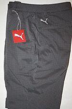 PUMA Men's Performance Golf Shorts NWT Flat Front PLAID Size: 32 FREE SHIPPING!!