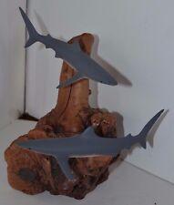 Vintage John Perry Sculpture Figure Fish Shark