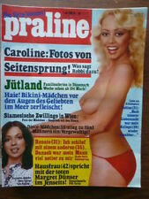 Praline Magazin 1981/34, vom 13.08.1981, Sylvia Kristel, Bee Gees