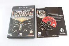 Nintendo Gamecube Star Wars Rogue Squadron II 2 Juego UK PAL COMPLETA