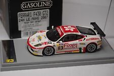 BBR FERRARI F430 GT2 #83 TEAM GPC SPORT LE MANS 2007 1/43