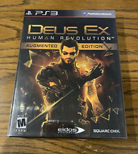 Deus Ex: Human Revolution -- Augmented Edition (Sony PlayStation 3, 2011)