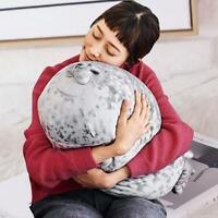 Chubby Blob Seal Plüschtierspielzeug Süßes Ozeankissen Haustier Gefüllte