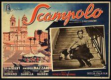 SCAMPOLO 1941 di N.MALASOMMA, LILIA SILVI, AMEDEO NAZZARI, FOTOBUSTA CARTONATA