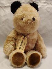 """Vintage 1975 Plush Paddington Bear Darkest Peru to London England Eden Toys 13"""""""