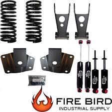 "Drop kit 99-06 Chevy / GMC 1500 SB Silverado / Sierra 3"" frt 4"" rear shock xzx"