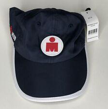 Ironman Cap Logo Running Triathlon Gym Strap Back Trucker Baseball Dad Hat NWT
