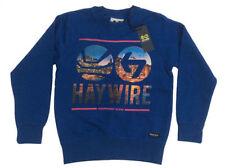 Sweats et vestes à capuche bleu en polyester pour garçon de 2 à 16 ans