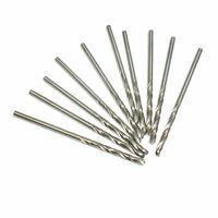 10pcs Micro Drill Bit 2mm HSS Straight Shank Electrical Tool Twist Drill Bit Set