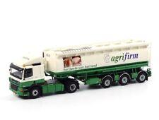 Agrifirm DAF CF 85 SC Truck + Welgro 3 Animal Feed Trailer WSI 1:50 9255