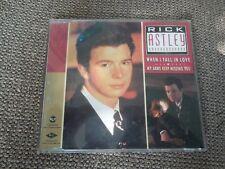 Rick Astley When I Fall In Love RARE CD Single