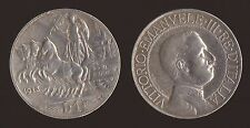 1 LIRA 1913 QUADRIGA - ARGENTO/SILVER - VITTORIO EMANUELE III